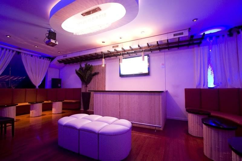 Upstairs balcony vip room tropix bar lounge for Balcony upstairs