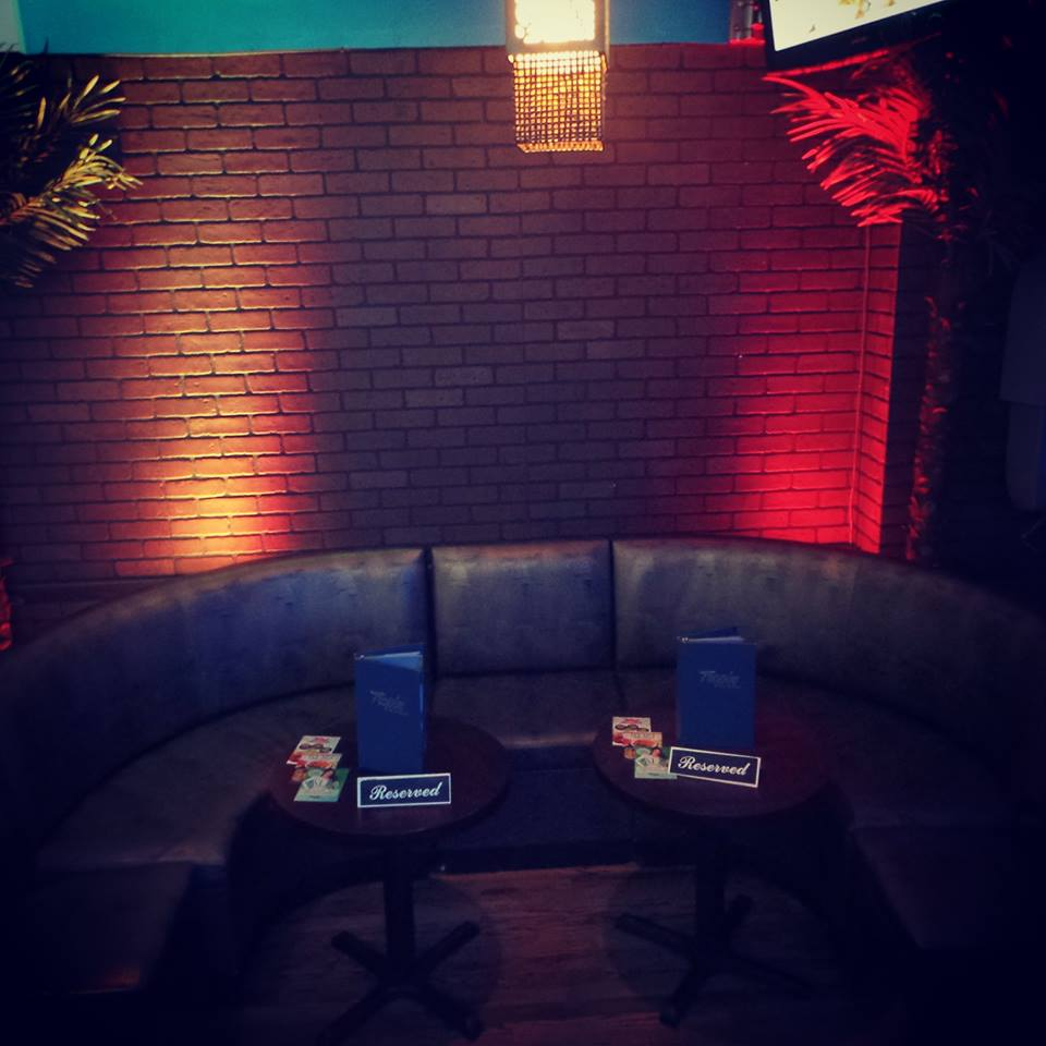 SOFA AND TABLE RESERVATIONS